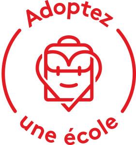 Logo Adoptez une école