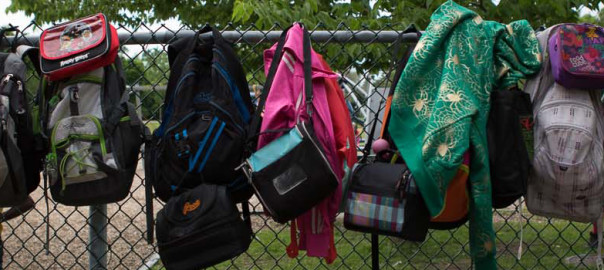 Bannière sacs à dos
