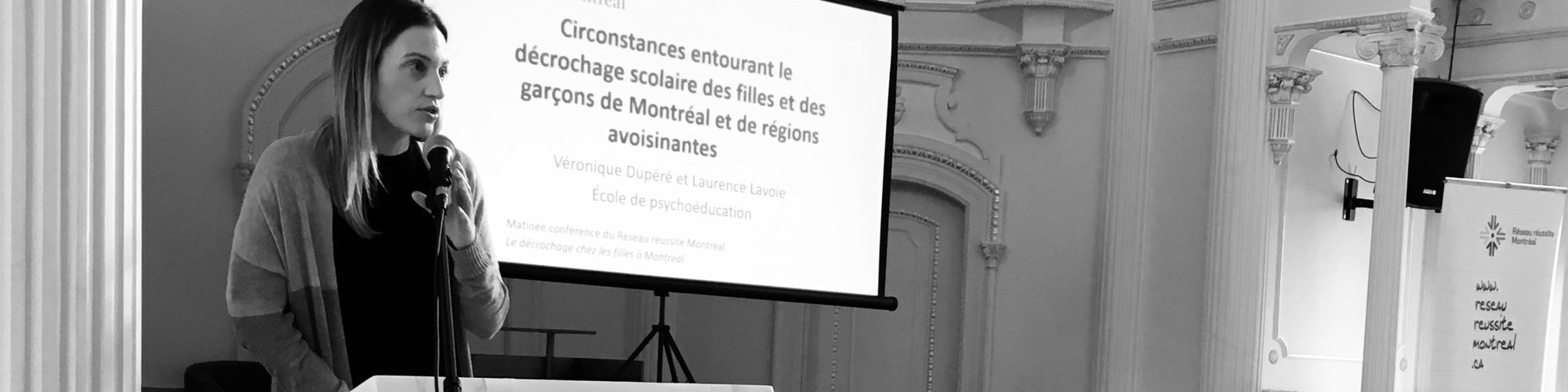Véronique Dupéré présente des données inédites